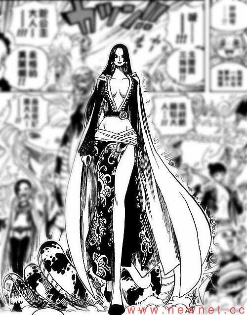 海贼王女帝蛇姬被海军轮高清组图